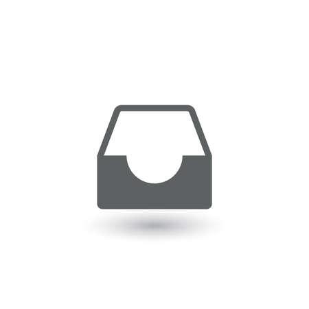 blue icon: graphics, modern flat icon