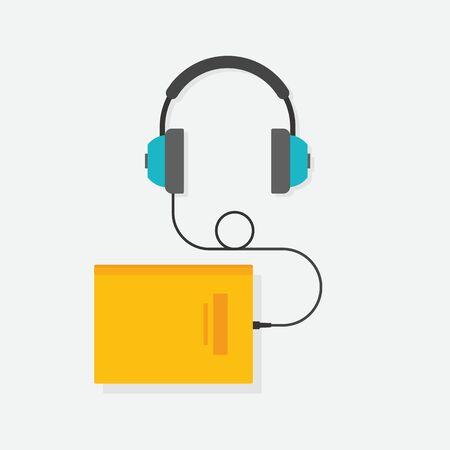 e reading: graphics, modern flat icon