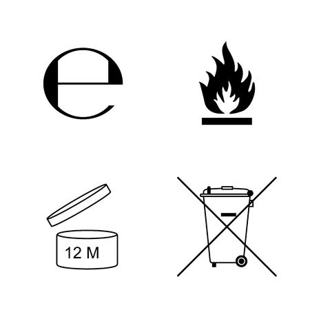 Flat stijlicoon. Handboek algemene symbolen.