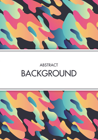 Abstract colourful layout brochure, magazine, flyer, booklet design, cover or report in A4
