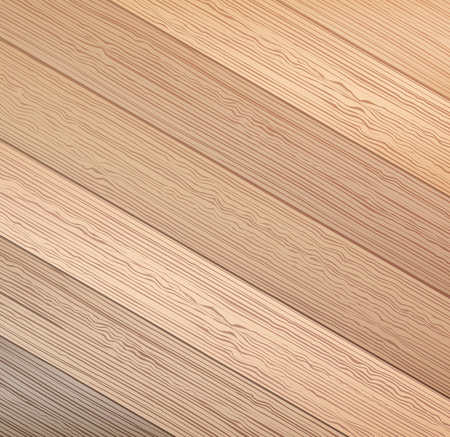 Wood texture. background old panels. Wooden vector background Illustration