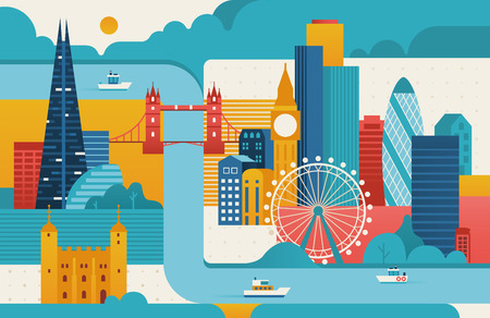 London city illustration.