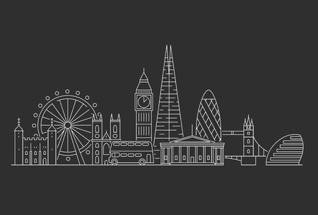 London city skyline.
