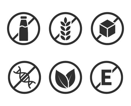Set of product icons
