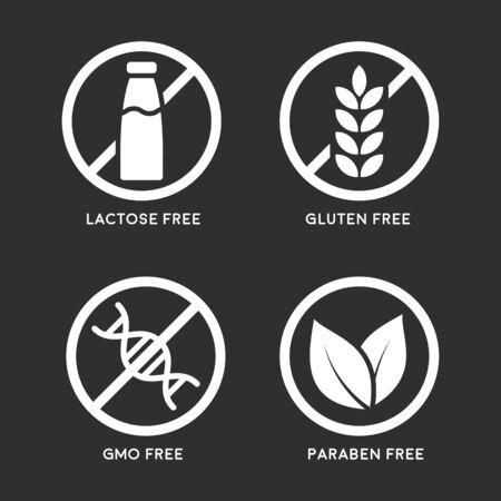 Set of product icons Ilustrace