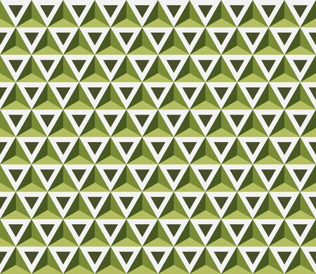 Seamless Pattern with Triangles.