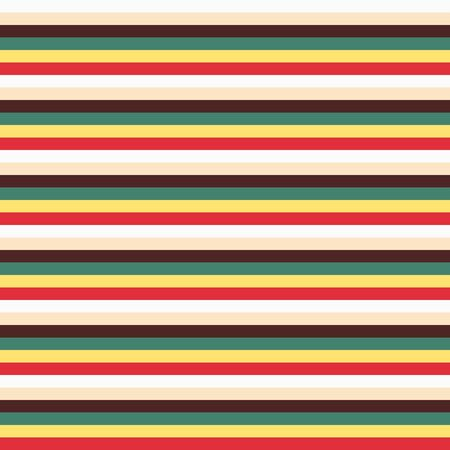 Trendy colorful stripes. Seamless pattern.