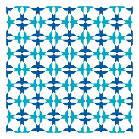 Colorful Arabic geometric ornament. Imagens - 143656034