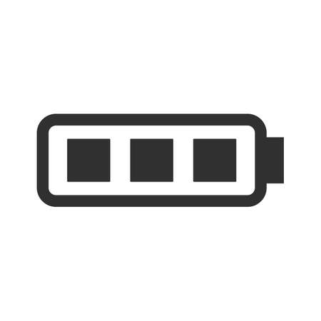 Electric battery fully charged icon. Imagens - 151583672