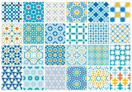 Traditional Arabic Islamic Background. Ilustrace