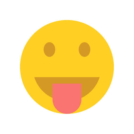 Happy yellow emoji face.