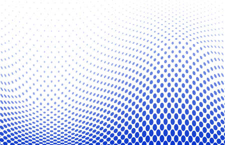 vector illustration of a dotted halftone background Vectores