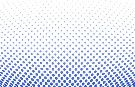 halftone dots: vector illustration of a dotted halftone background Illustration