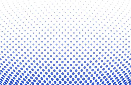 halftone pattern: vector illustration of a dotted halftone background Illustration