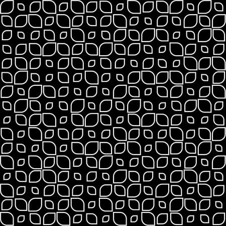vector illustration of a seamless pattern in black and white Stock Vector - 21049648