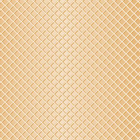 Illustration einer Waffel als Hintergrund Standard-Bild - 21927911