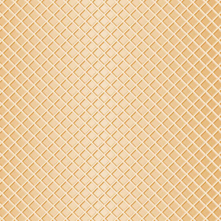 wafer: illustration of a waffle as background
