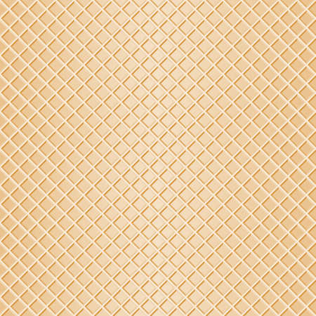 vector illustration of a seamless waffle background