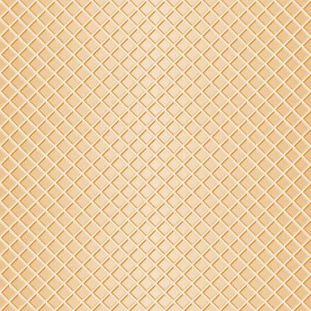 gofre: ilustraci�n vectorial de un fondo de galleta perfecta