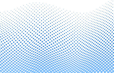 vector illustration of a dotted halftone background Illustration