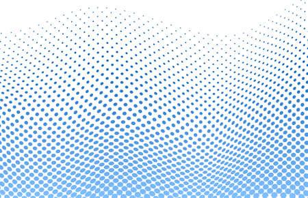 vector illustration of a dotted halftone background Illustration
