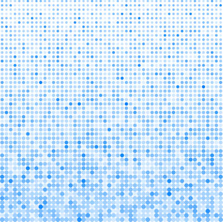vector illustration of a dotted halftone background Vector