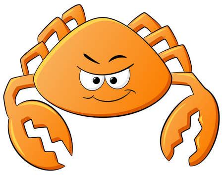 cancer zodiac: vector illustration of a zodiac sign - cancer