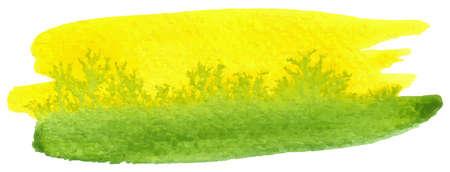 watercolour paintbrush: vector illustration of a watercolor brushstroke