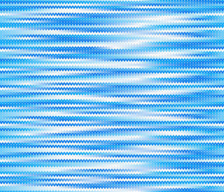 knitted: vector illustration of a seamless knitted melange pattern Illustration