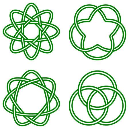 celtic: vector illustration of celtic knots