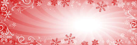 vector illustration of a decorated christmas background 일러스트