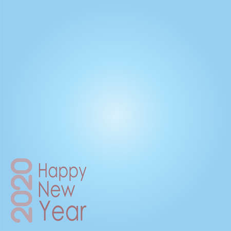 Graphic design in gray tones for happy new year. Free space for your text on holiday card.