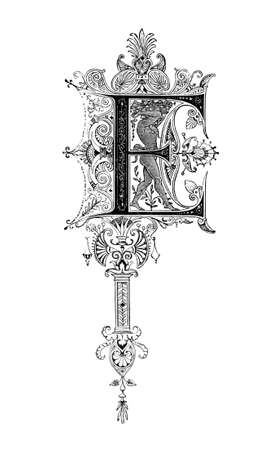 greco: Romanesque Neoclassical design depicting the letter E. Digitally restored from a mid-19th century encyclopaedia of Ancient Greece and Rome.