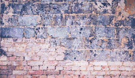 Brick background. Brick and concrete background