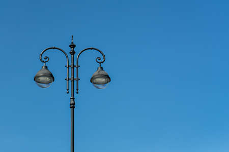 Street lamp by day