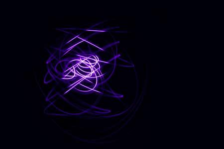 LED lighting design style for love symbols, night lights, drawing with LED lights, Storm of Light