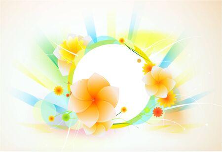 Vector flower background Stock Vector - 9839898