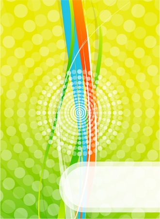 Abstract lines Stock Vector - 9839909