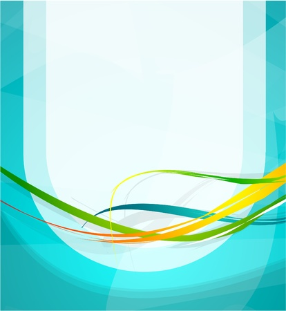 Abstract lines Stock Vector - 9839879