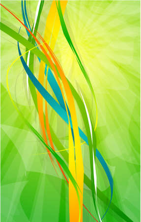 Abstract lines Stock Vector - 9839908