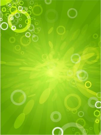 company background: Abstract sfondo verde Vettoriali
