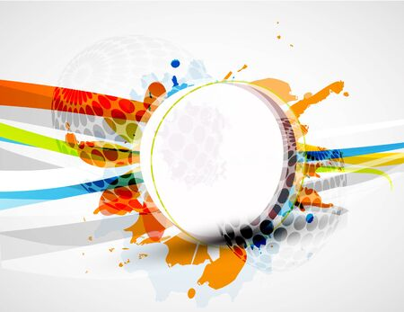 creative designs: Vector abstract colorful background Stock Photo