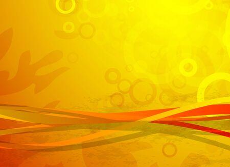 Líneas onduladas de vector. Fondo abstracto Ilustración de vector