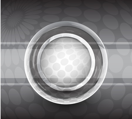 Silver smooth plate. Vector background Vector
