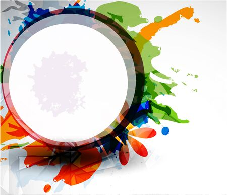 transparency color: Abstract vector colorful shapes background
