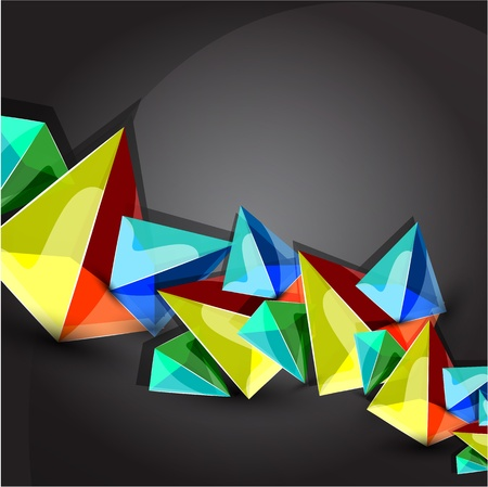 pyramid background Vector