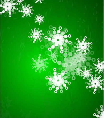 green christmas background photo