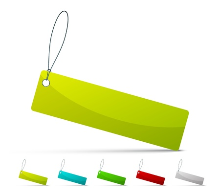 price sticker: rectangle labels
