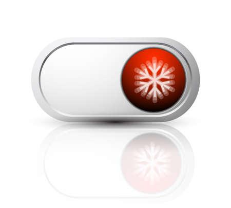 christmas button design Stock Vector - 9933805