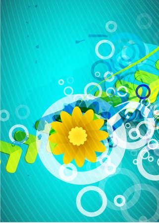 Abstract environmental theme Stock Vector - 9989324